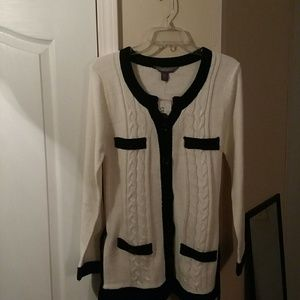Contact Cardigan Style Sweater